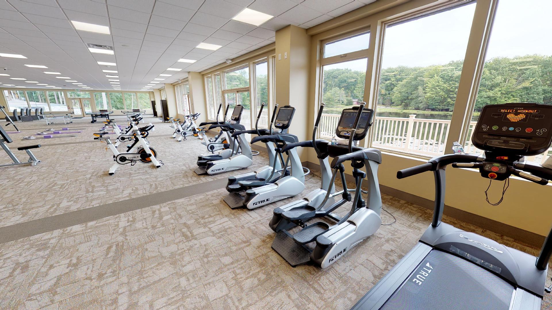 Fitness Center at Pocono Pennsylvania Drug & Alcohol Rehab Center